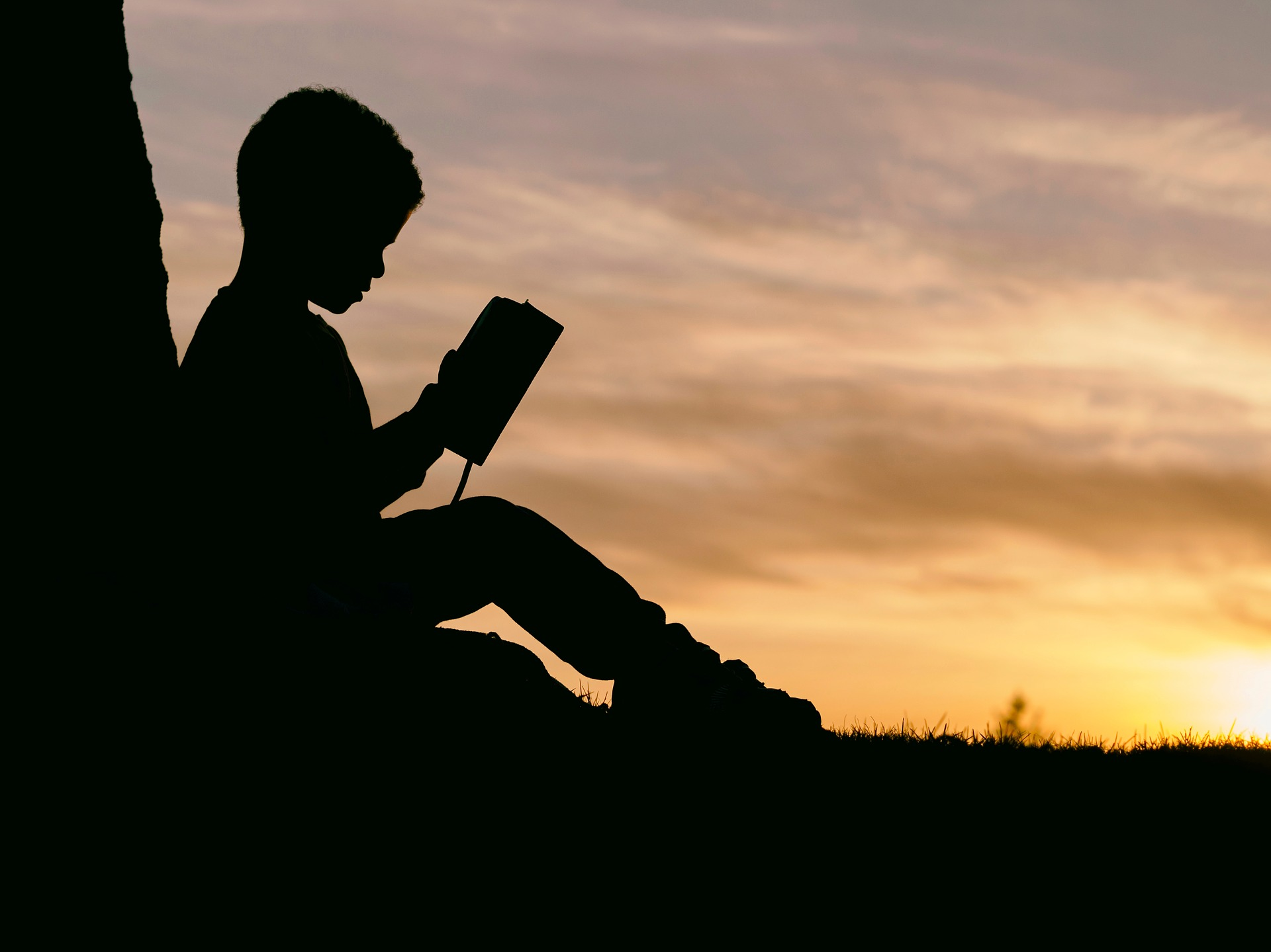 niño leyendo libro